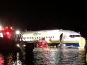 Plane with 136 goes into Florida river, no casualties