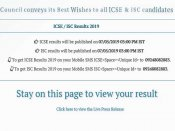 ICSE, ISC results 2019 declared, pass percentage is 98.54