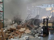 F-16 fighter jet crashes into building in California; Pilot ejects safely