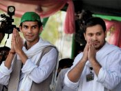 An emotional note from Tej Pratap Yadav to his younger brother Tejashwi Yadav