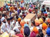 Death of 2-yr-old in Sangrur: Protests erupt, Opposition corners Singh's govt