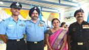 IAF chief presents his 'wings' to 'Sword of Honour' recipient at AFA