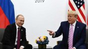 'Don't meddle in the election, please': Smiling Trump tells Putin