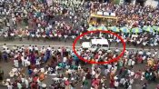 WATCH: Devotees at Jagannath Puri Rath Yatra create human corridor for ambulance