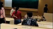 Video of cow casually strolling into IIT-Bombay classroom goes viral