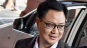 During a brief stop-over Rijiju eats SAI hostel food