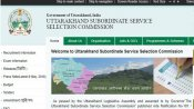 UKSSSC Junior Engineer jobs: 100 UKSSSC JE vacancies announced, How to apply for these Uttarakhand g
