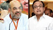 #KarmaStrikes goes viral: Amit Shah then, P Chidambaram now
