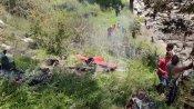 Uttarakhand: Two killed as Helicopter carrying flood relief crashes in Uttarkashi