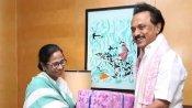 Mamata Banerjee pays tribute to Karunanidhi on his 1st death anniversary