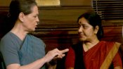 Feel her loss greatly: Sonia writes to Swaraj's family