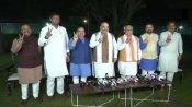 Haryana: ML Khattar to stake govt formation claim today