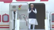 PM arrives in Delhi after concluding two-day visit to Saudi Arabia