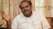 Kumaraswamy meets D K Shivakumar in Tihar Jail