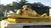 Statue of Tamil poet and philosopher, Thiruvalluvar vandalized