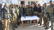 Terrorist arrested in J&K: Huge cache of arms recovered