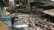Building collapses at Delhi's Gandhi Nagar area, two injured