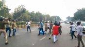 JNU violence: ABVP, NSUI members clash in Guj, over 10 injured