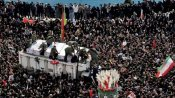 'Sea of humanity' at General Qasem Soleimani funeral killed by US