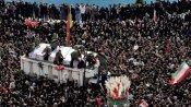 56 killed in stampede at funeral for Qasem Soleimani