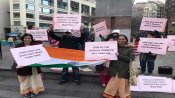 In support of CAA Indian-Americans hold rally in Boston