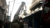Fire breaks out at Delhi's spare part factory