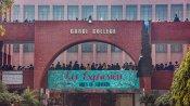 Gargi college molestation case: Students hold protest; Delhi Police launches probe