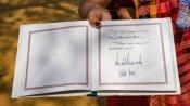 Looks like heartbeat or ECG wave: Twitterati mocks Trump's signature on Sabarmati Ashram diary