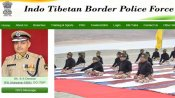 ITBP Constable Exam admit card released