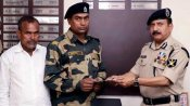 BSF hands over Rs 10L cheque to jawan Mohammed Anees whose house was burnt in Delhi riots