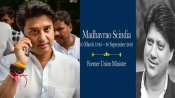 On Madhavrao Scindia's birth anniversary, son creates trouble to congress his father once fought for