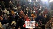 Shaheen Bagh protests continue despite coronavirus outbreak