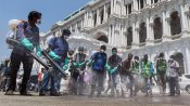 Fake: India Army is not undertaking a spraying exercise to kill coronavirus