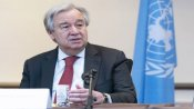 UN chief says pandemic is unleashing a `tsunami of hate'