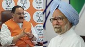 'Presided over 600 incursions': BJP chief hits back at Manmohan Singh for Ladakh face-off remarks