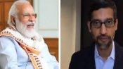 PM Modi, Sundar Pichai discuss Covid-19 crisis, technology and more