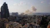 Video: 27 killed after huge explosions in Beirut; All officials at Indian Mission in Lebanon safe