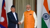Amid strain in ties, Nepalese PM Oli calls up Modi; greets people of India on I-Day