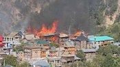 Ten houses gutted in fire in HP's Kinnaur