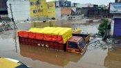 IMD Issues yellow alert in Hyderabad; Deep depression moving towards Maharashtra