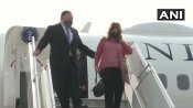 India-US 2+2 dialogue: Pompeo and his wife Susan arrive in Delhi amid China tensions