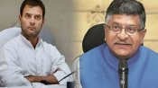 Ravi Shankar Prasad questions Rahul Gandhi's 'aukaat' in Indian politics