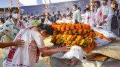 Ashes of former Assam CM Gogoi to travel across state