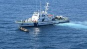Sri Lankan boat with 100 kgs of Pak drugs intercepted by Coast Guard