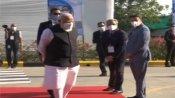 Fake: PM Modi did not arrive in Zydus Cadila chairman's car for Changodar visit