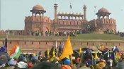 Protesting farmers enter Red Fort complex, hoist flag