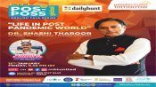 Dr. Shashi Tharoor to speak on 'Life in Post Pandemic World'