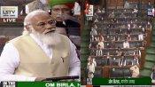 'Ab zyada ho Rahi hai', says PM Modi as Congress stages walk out in Lok Sabha