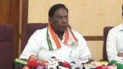 My govt enjoys majority in Puducherry: V Narayanasamy