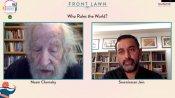 Jaipur Literature Fest: Noam Chomsky explains how the evolution of politics has changed